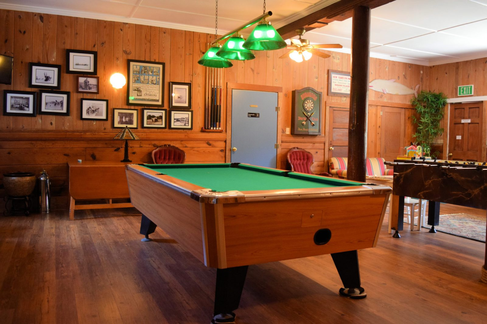 Blackbeard's Lodge Game Room